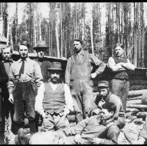 Image of 1980.1.2 - Unidentified logging camp