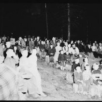 Image of 1956 - Campfire program, Lake of Two Rivers
