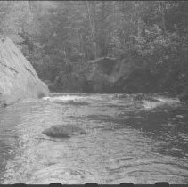 Image of 4595 - Crooked Chute on the Bonnechere River, July 1977
