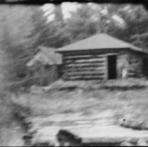 Image of Late May 1965 - Ranger cabin on the Nipissing River