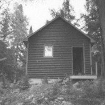 Image of Fall 1979 - Fire tower cabin, Birchcliffe Lake