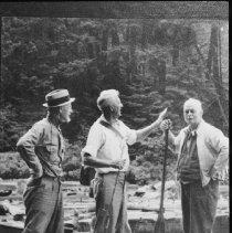 Image of 5043 - L. - R. Otto Markworth, Harry King Sr., ken Unger