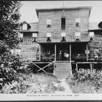 Image of 5044 - Algonquin Hotel, Joe Lake