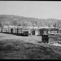 Image of 5140 - Stockpile of lumber at Staniforth's mill, Kiosk.