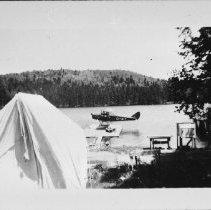Image of 5160 - Fish lab. at Sproule Bay, Opeongo Lake
