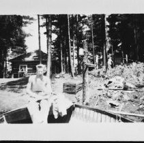 Image of 5163 - Fisheries research laboratory at Sproule Bay, Opeongo Lake