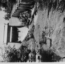 Image of Dam and fish ladder probably at Joe Lake