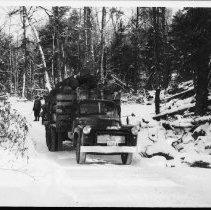 Image of 5215 - Truck hauling logs