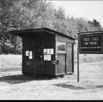 Image of 5312 - The office at Rock Lake Campground