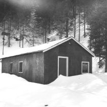 Image of 5359 - The staffhouse at the Algonquin Park Museum