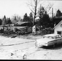 Image of 5409 - Opeongo Lodge after the fire.