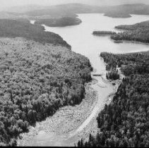 Image of 1960 - Booth Lake dam.