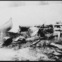 Image of 5545 - Birch Bark canoe, 1929.