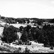 Image of 5612 - Terrain along the railway line, between Cache Lake and Lake of Two Rivers.