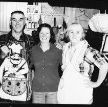Image of 5646 - Christmas at Kish-Kaduk Lodge, Cedar Lake, 1976.