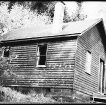 Image of 5734 - The tower cabin at Big Crow Lake, June 1980.