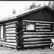 Image of 5742 - Rain Lake access point cabin, June 1980.