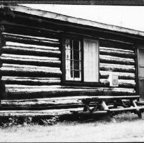Image of 5744 - Rain Lake access point cabin, June 1980.