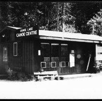 Image of 5749 - The Canoe Lake Canoe Centre, June 1980.