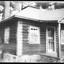 Image of 5762 - The ranger cabin at Kiosk, October 1980.
