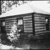 Image of 5769 - Achray ranger cabin, October 1980.
