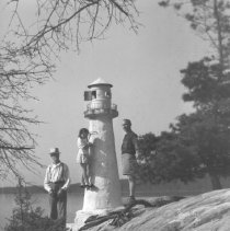 Image of 5864 - lighthouse, Canoe Lake