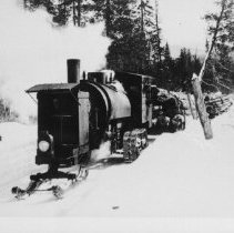 Image of 5901 - Lombard Log Hauler, in operation