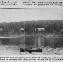 Image of 5976 - View from Burnt Island Lake of Camp Minnesing