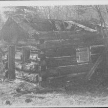 Image of ca. 1984 - Ranger cabin between Greenleaf and Barron Lakes
