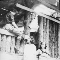 Image of 6079 - Building the cabin