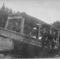 Image of 6083 - Old boat near Cache Lake (?)