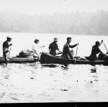 Image of 6117 - Canoe trip starting out
