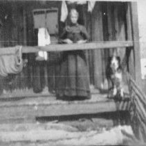 Image of 6133 - Aunt Mary Ellen Foy at the McGuey home