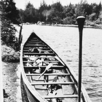 Image of 6167 - War Canoe, Camp Ahmek