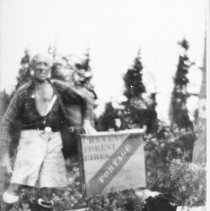 Image of 6177 - Sign on 4 1/2 mile portage