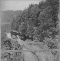 Image of 6178 - Log chute -- Ragged Lake to Smoke Lake