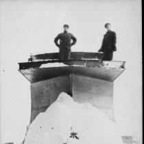 Image of 6197 - Snow plow -- railway
