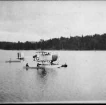 Image of Plane -- Cache Lake