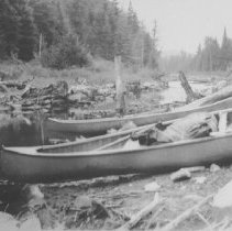 Image of 1938 - End of portage to 2nd Bonnechere Lake