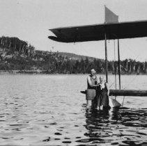 Image of Plane at Rock Lake