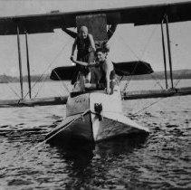 Image of 6322 - Plane at Rock Lake