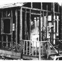 Image of 1929 - Opeongo Lodge burned.