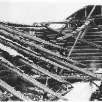 Image of 1976.107.4 - Opeongo Lodge burned.