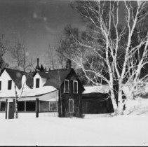 Image of 6393 - Shawna in winter, Rock Lake
