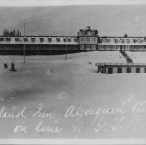 Image of 6428 - Highland Inn, Algonquin Park on line of G. T. R.