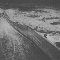Image of 1992.2.9 - Log chute, Cedar Lake
