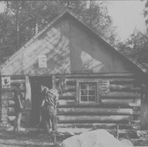 Image of 6454 - Ranger cabin, Green Lake