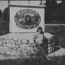 Image of 6639 - Park Headquarters sign