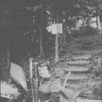 Image of 6644 - Marilyn Linklater at Head Lake portage