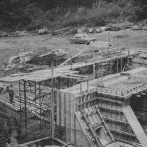 Image of August 25, 1966 - Cache Lake dam
